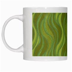 Pattern White Mugs