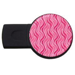 Pattern USB Flash Drive Round (1 GB)