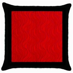 Pattern Throw Pillow Case (Black)