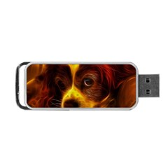 Cute 3d Dog Portable USB Flash (One Side)