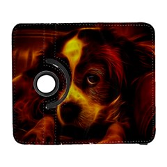 Cute 3d Dog Galaxy S3 (Flip/Folio)