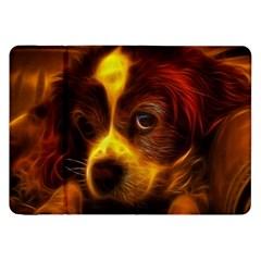Cute 3d Dog Samsung Galaxy Tab 8.9  P7300 Flip Case