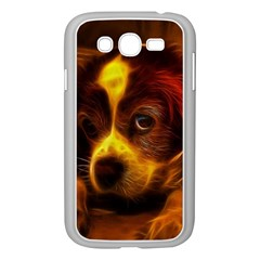 Cute 3d Dog Samsung Galaxy Grand DUOS I9082 Case (White)