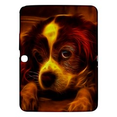 Cute 3d Dog Samsung Galaxy Tab 3 (10.1 ) P5200 Hardshell Case