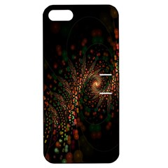 Multicolor Fractals Digital Art Design Apple iPhone 5 Hardshell Case with Stand