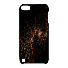 Multicolor Fractals Digital Art Design Apple iPod Touch 5 Hardshell Case with Stand