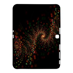 Multicolor Fractals Digital Art Design Samsung Galaxy Tab 4 (10.1 ) Hardshell Case