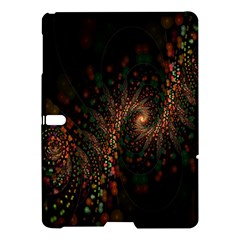 Multicolor Fractals Digital Art Design Samsung Galaxy Tab S (10.5 ) Hardshell Case
