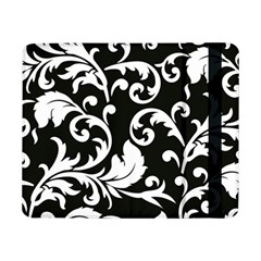Vector Classical  Traditional Black And White Floral Patterns Samsung Galaxy Tab Pro 8.4  Flip Case