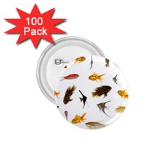 Goldfish 1.75  Buttons (100 pack)