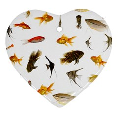 Goldfish Heart Ornament (Two Sides)