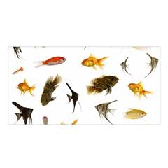 Goldfish Satin Shawl
