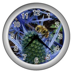 Chihuly Garden Bumble Wall Clocks (Silver)