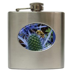 Chihuly Garden Bumble Hip Flask (6 oz)