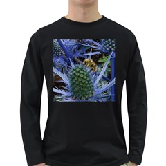Chihuly Garden Bumble Long Sleeve Dark T-Shirts