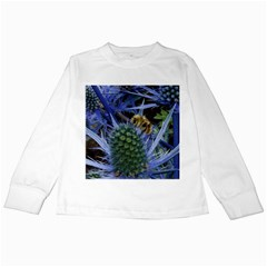 Chihuly Garden Bumble Kids Long Sleeve T-Shirts