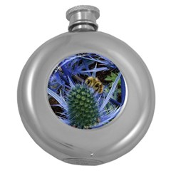 Chihuly Garden Bumble Round Hip Flask (5 oz)