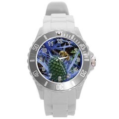 Chihuly Garden Bumble Round Plastic Sport Watch (L)