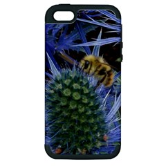 Chihuly Garden Bumble Apple iPhone 5 Hardshell Case (PC+Silicone)