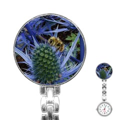 Chihuly Garden Bumble Stainless Steel Nurses Watch