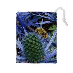 Chihuly Garden Bumble Drawstring Pouches (Large)