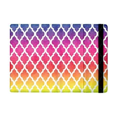 Colorful Rainbow Moroccan Pattern iPad Mini 2 Flip Cases
