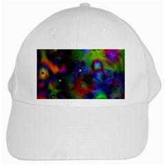 Full Colors White Cap