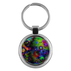 Full Colors Key Chains (Round)