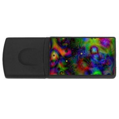Full Colors USB Flash Drive Rectangular (2 GB)