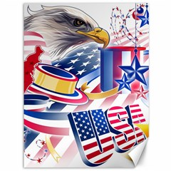 United States Of America Usa Images Independence Day Canvas 36  x 48