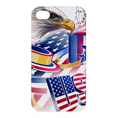 United States Of America Usa Images Independence Day Apple iPhone 4/4S Hardshell Case