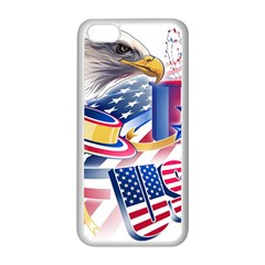 United States Of America Usa Images Independence Day Apple iPhone 5C Seamless Case (White)