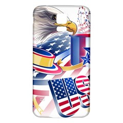 United States Of America Usa Images Independence Day Samsung Galaxy S5 Back Case (White)