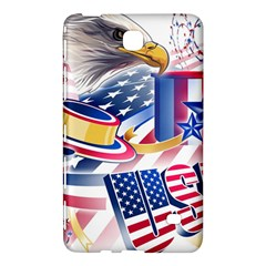 United States Of America Usa Images Independence Day Samsung Galaxy Tab 4 (7 ) Hardshell Case