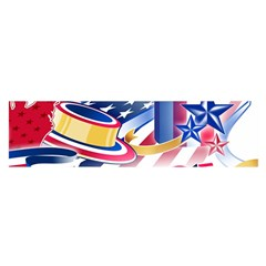 United States Of America Usa Images Independence Day Satin Scarf (Oblong)