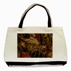 Chinese Dragon Basic Tote Bag (Two Sides)