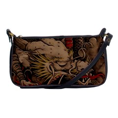 Chinese Dragon Shoulder Clutch Bags