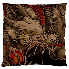 Chinese Dragon Large Cushion Case (Two Sides)