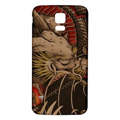 Chinese Dragon Samsung Galaxy S5 Back Case (White)