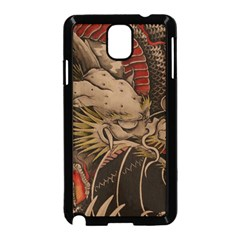 Chinese Dragon Samsung Galaxy Note 3 Neo Hardshell Case (Black)