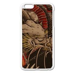 Chinese Dragon Apple iPhone 6 Plus/6S Plus Enamel White Case