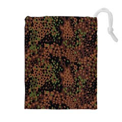 Digital Camouflage Drawstring Pouches (Extra Large)