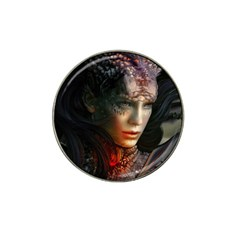 Digital Fantasy Girl Art Hat Clip Ball Marker (10 pack)