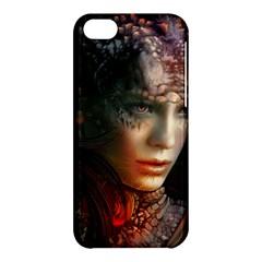 Digital Fantasy Girl Art Apple iPhone 5C Hardshell Case