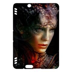 Digital Fantasy Girl Art Kindle Fire HDX Hardshell Case