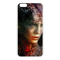 Digital Fantasy Girl Art Apple Seamless iPhone 6 Plus/6S Plus Case (Transparent)