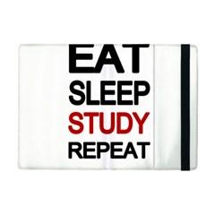 Eat sleep study repeat iPad Mini 2 Flip Cases