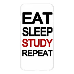 Eat sleep study repeat Apple Seamless iPhone 6 Plus/6S Plus Case (Transparent)