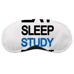 Eat sleep study repeat Sleeping Masks