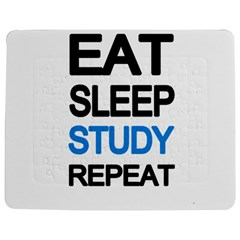 Eat sleep study repeat Jigsaw Puzzle Photo Stand (Rectangular)